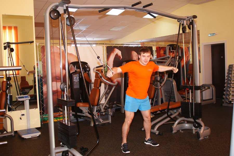Занятия спортом укрепляют здоровье