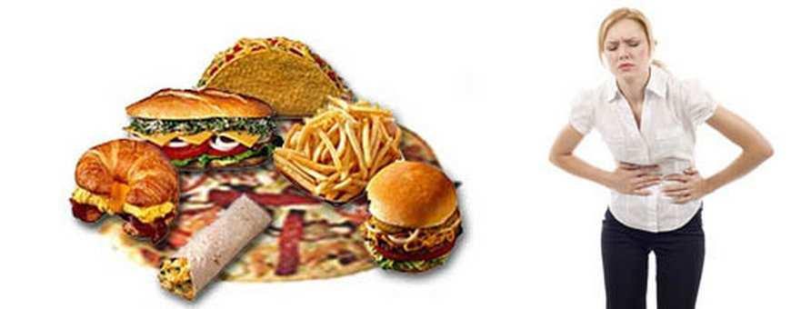 Неправильное питание может усугубить проблему